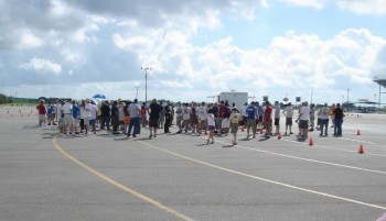 Joint SPOKES-SASCA autocross drivers meeting, June 2010