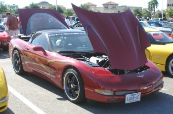 Leora's 1998 Corvette, both a show car and up & coming autocross competitor!