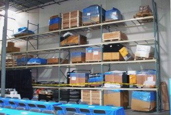One of COBB Tuning's warehouses