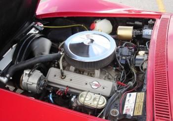 This refreshed & updated 1968 Corvette engine bay is VERY inspiring!