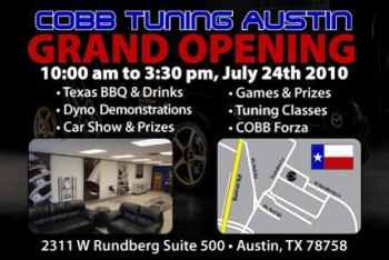 COBB Tuning, Austin - Open House Advertising