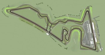 "US Grand Prix Austin Formula 1 track design overvew - a ""bird's eye"" view..."