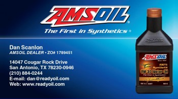 AMSOIL Business Card for ReadyOil.com