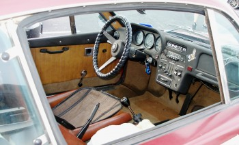 "Chuck's SAAB Sonett,a ""just the essentials"" cockpit..."