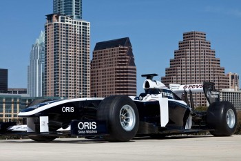 F1 Williams Race Car Austin - Official Senna SXSW Promational Photo