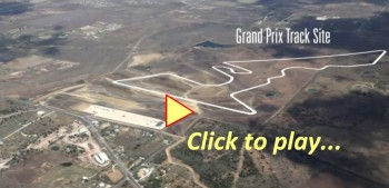 Formula1 Austin USGP - Construction aerial view! - Click to play...