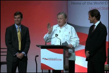 Circuit of the Americas (CotA) announcement - with Tavo Hellmund & Red McCombs