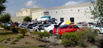 ProSource Promo Show & Shine Event - quite the hot Mustang selection!