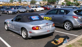 There are now TWO cars in SASCA that autocross with AMSOIL Lubricants!!!  Thanks Eric!