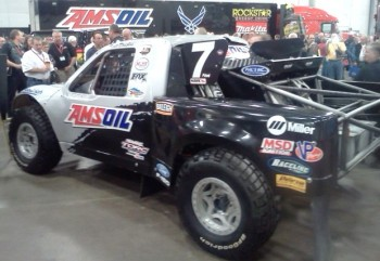 2010 AMSOIL Traxxas TORC Championship Winning Ford F-150 4X4 Truck, driven to victory by Scott Douglas