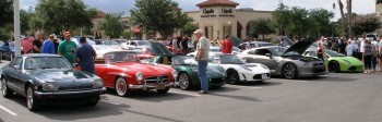 A variety of age, mode of energy & speed with exclusivity, at the informal C&C Show @ Panera's, San Antonio, TX - 25-JUN-2011
