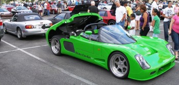 Jason's Ultima Can-Am 720, with Karlino!