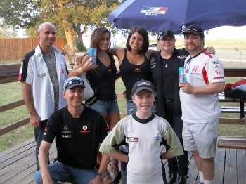 Red Bull Girls & F1 fans @ Wild Bubba's Meet, Greet & Eat