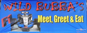 Wild Bubba's Meet, Greet & Eat Banner
