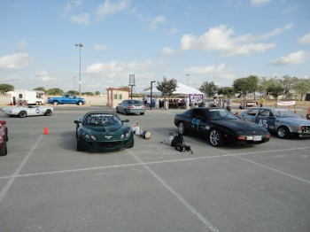 Shallow turnout for this event, the SCCA Divisional at Retama, on June 18, 2011