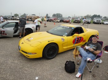 2011 scca solo nats day2 - 1  |  Co-driver Jay...