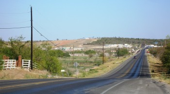 Highway FM 812 Lanes Expansion at COTA, off in the distance...