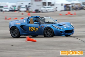 2011 Super Stock national champion Matthew Braun in his Lotus Elise