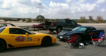 The Corvette, Jay & Eric, Autocross Show!