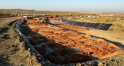 Circuit of The Americas racing surface foundation preparation...circa November 2011