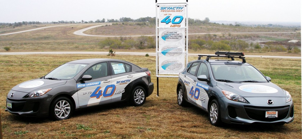 SKYACTIV Technology Promo, onsite at Mazda Raceway at Harris Hill