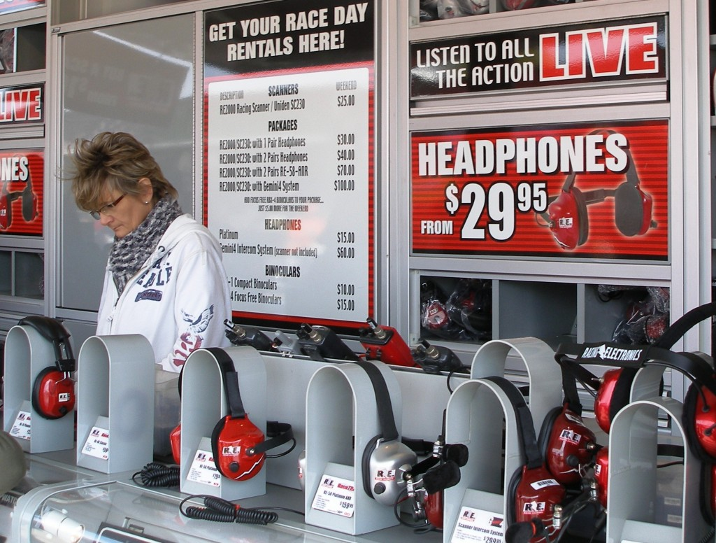 Check out the pricing of the scanners, etc. from sales trailer of R.E. Racing Electronics!