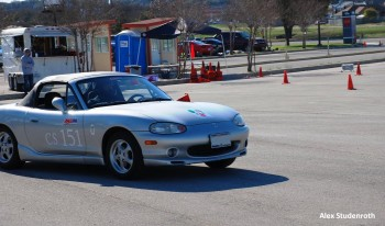Karlino's auto-x launch , at the SASCA 2012 AutoX #1 - Courtesy of Alex Studenroth