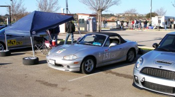Karlino, awaiting to compete at the SASCA AutoX 2012 #2