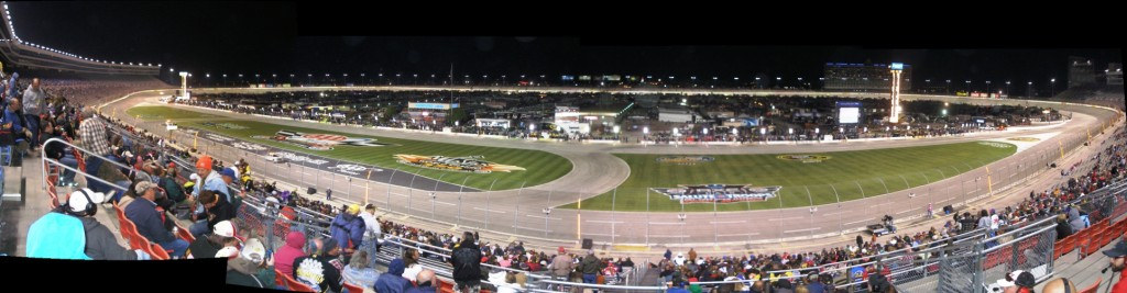 NASCAR Camping World Truck Series race at Texas Motor Speedway - November 2011 - Panorama