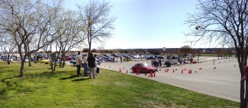 SASCA 2012 AutoX #1 - a launch from the starting box...