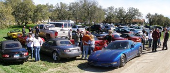 Tejas Miatas run, at Jester King Brewery parking lot - 25-FEB-2012