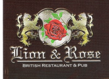 Lion & Rose British Restaurant & Pub - general logo