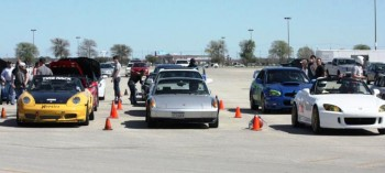 SASCA AutoX #3 - Autocross preparation on grid - 2012-MAR-04