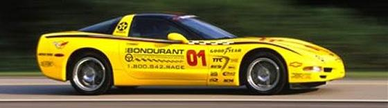Bondurant Racing School Corvette