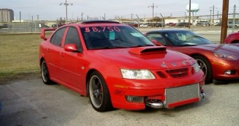 Such modification in the pursuit of a fast SAAB 9-3