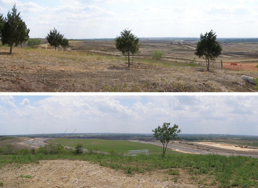 CoTA view comparison, Turns 10 & 12 plus - June 2011 to July 2012