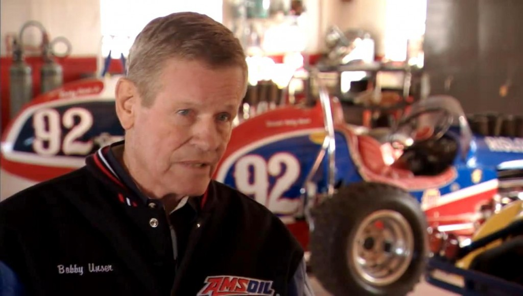 Bobby Unser & AMSOIL Racing - Both achieving winning results through innovation!