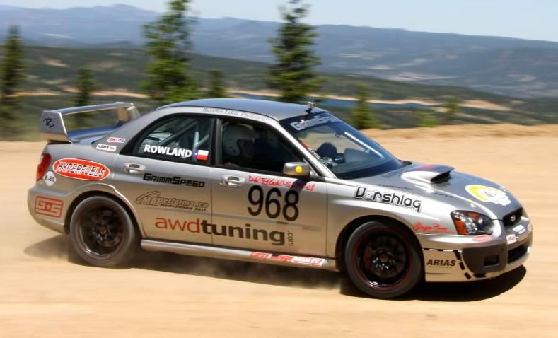 Brianne Corn - racing drive by at Pikes Peak, 2011