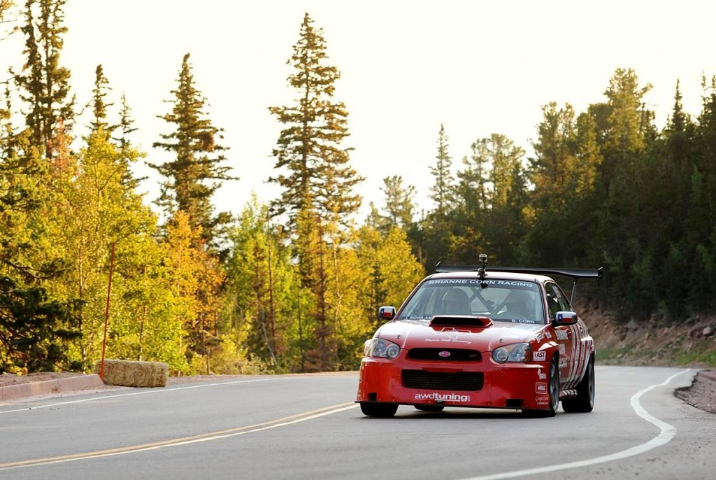 Brianne Corn's 2005 Subaru Sti - Final 2012 pre-race Pikes Peak tuning session