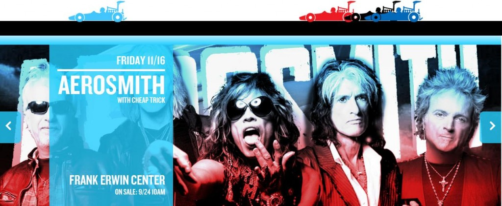 Aerosmith, Headline Act of the 2012 Austin Fan Fest Weekend!