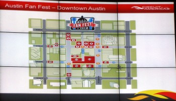 Austin Fan Fest 2012 (1) - Map Overview
