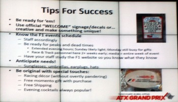 Austin Fan Fest 2012 (9) - Tips For Success