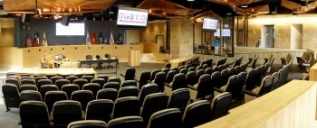 City Council Chambers in Austin, Texas
