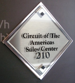 Circuit of The Americas Sales Center entrance tag