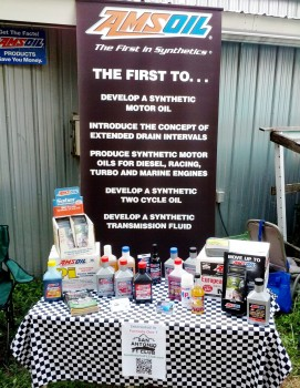 AMSOIL display at Wild Bubba's Octoberfest 2012