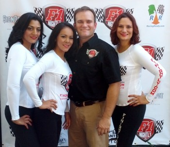Jason Anderson, Manager of F1Nightly.com & the F1Nightly.com Girls, at Wild Bubba's Octoberfest 2012!