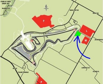 Location of Haywood's Place, by CoTA's Turn 11