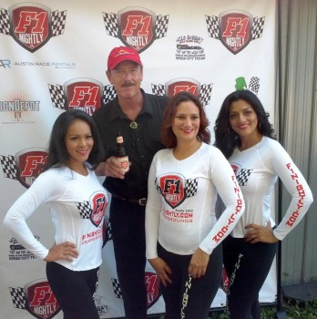 Wild Bubba with the F1Nightly.com Girls at his 2012 Octoberfest!