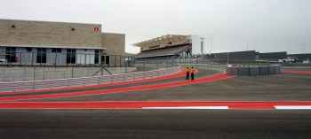 2012 Formula Run at CoTA, Pit In just before Turn 20...
