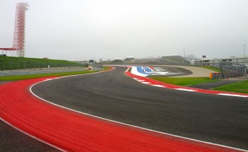 2012 Formula Run at CoTA, looking at Turn 18 from 19, with Turn 1 in the distance...